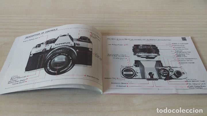 Cámara de fotos: Manual Olympus OM-10 original - Foto 3 - 199931563