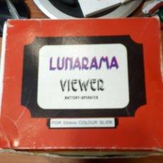 Appareil photos: VISOR DIAPOSITIVAS LUNARAMA VIEWER. Lote 200076098