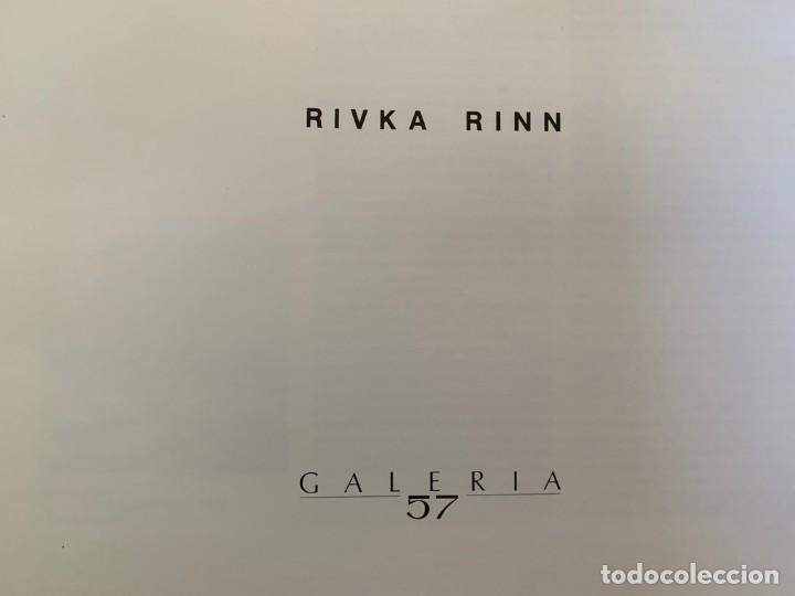RIVKA RINN GALERIA 57 (Cámaras Fotográficas - Catálogos, Manuales y Publicidad)