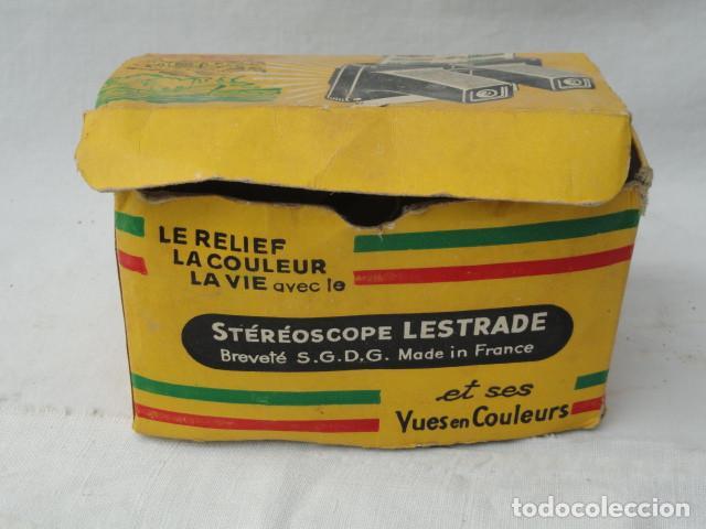 Cámara de fotos: STEREOSCOPE LESTRADE CON CAJA E INSTRUCCIONES. - Foto 8 - 201185588