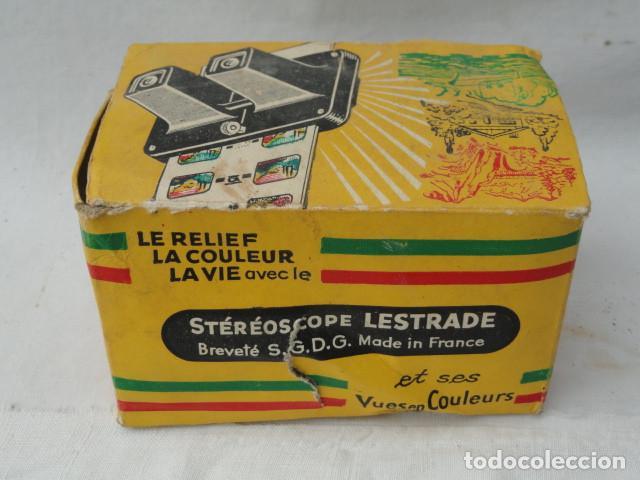 Cámara de fotos: STEREOSCOPE LESTRADE CON CAJA E INSTRUCCIONES. - Foto 9 - 201185588