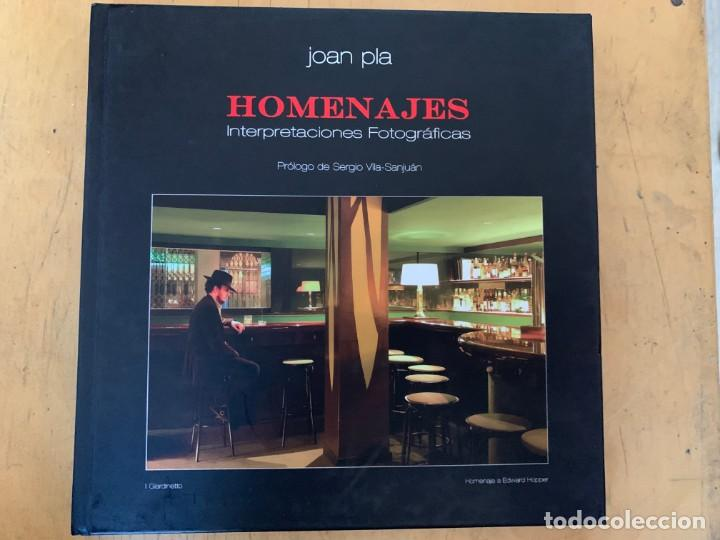 JOAN PLA HOMENAJES INTERPRETACIONES FOTOGRAFICAS (Cámaras Fotográficas - Catálogos, Manuales y Publicidad)