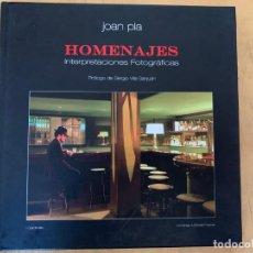 Cámara de fotos: JOAN PLA HOMENAJES INTERPRETACIONES FOTOGRAFICAS. Lote 201190175