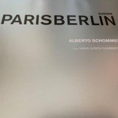Cámara de fotos: ALBERTO SCHOMMER PARIS BERLIN. Lote 201193843