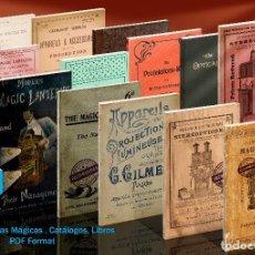 Cámara de fotos: DVD LINTERNAS MÁGICAS. CATÁLOGOS, LIBROS, ETC. Lote 202299082
