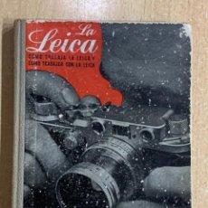Cámara de fotos: LA LEICA. Lote 202387666