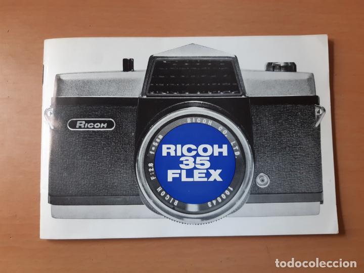 Cámara de fotos: INSTRUCCIONES Y GARANTÍA DE MÁQUINA FOTOGRÁFICA RICOH 35 FLEX. - Foto 2 - 202866847