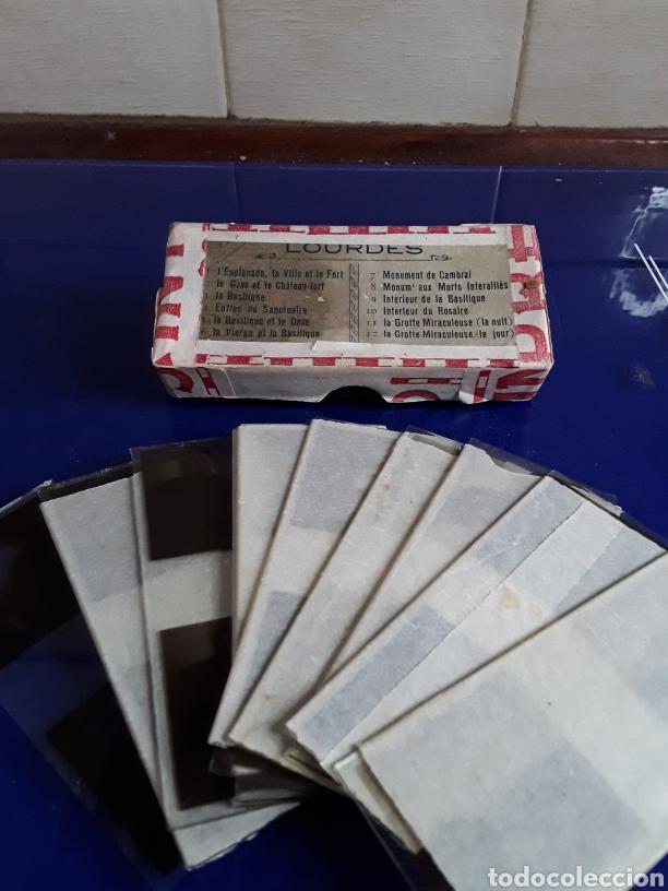 Cámara de fotos: Visor Estereoscopico antiguo de carton con 9 cristales de londres - Foto 5 - 202948141
