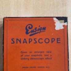 Cámara de fotos: SNAPSCOPE. Lote 203445152