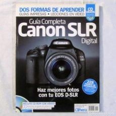 Cámara de fotos: GUÍA COMPLETA CANON SLR DIGITAL. Lote 203930950