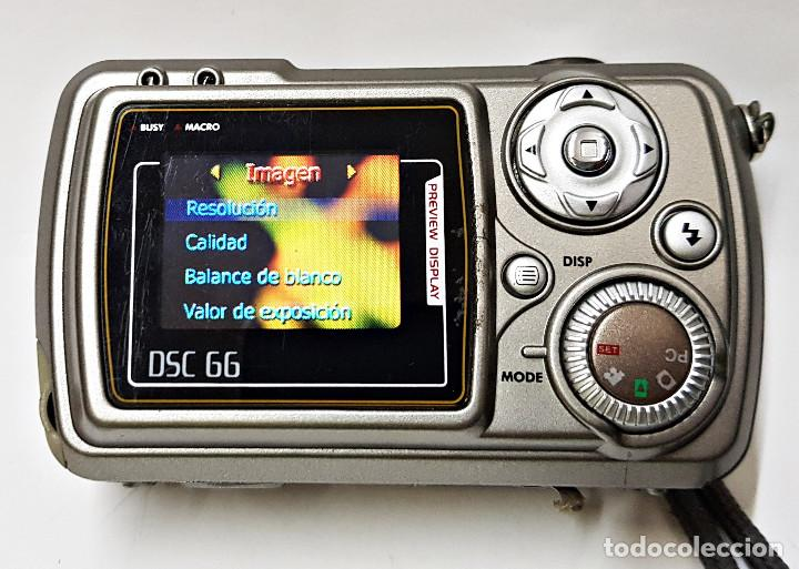 Cámara de fotos: Camara digital Nortek DSC 66 6.6 Mega Pixel - Foto 3 - 204069303