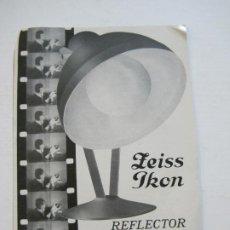 Cámara de fotos: REFLECTOR NITRAPHOT ZEISS IKON-CATALOGO PUBLICIDAD DE FOTOGRAFIA-VER FOTOS-(V-19.995). Lote 204093485