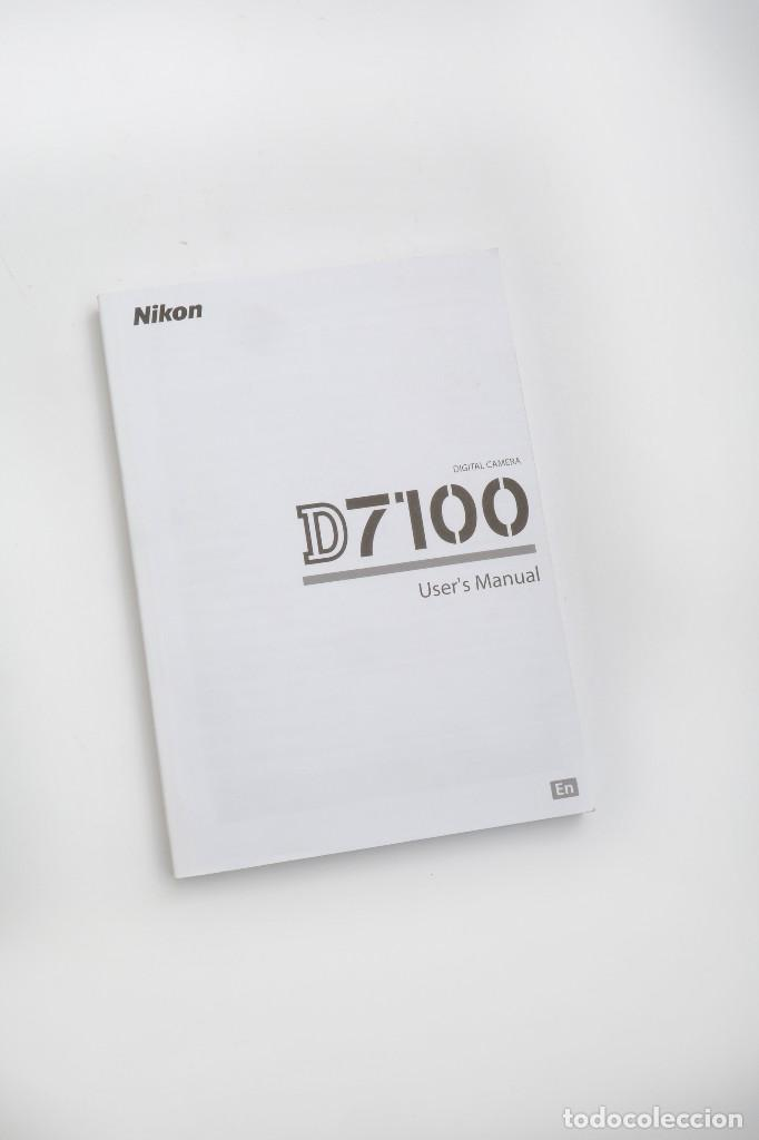 MANUAL INSTRUCCIONES NIKON D7100 EN INGLÉS (Cámaras Fotográficas - Catálogos, Manuales y Publicidad)