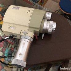 Cámara de fotos: CAMARA VIDEO MINOLTA ZOOM 8 CON MALETA ORIGINAL PIEL. Lote 204788945