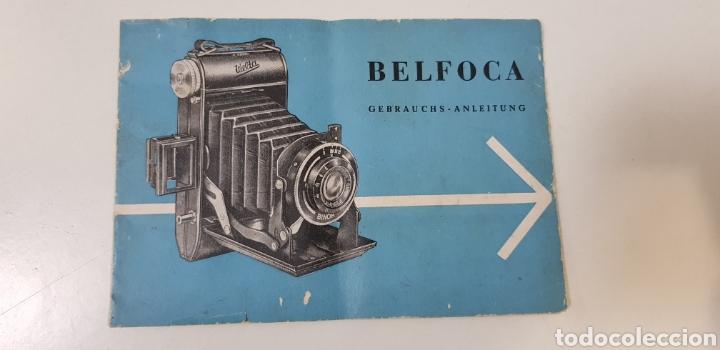 WELTA BELFOCA - MANUAL INSTRUCCIONES - CÁMARA FUELLE (Cámaras Fotográficas - Catálogos, Manuales y Publicidad)
