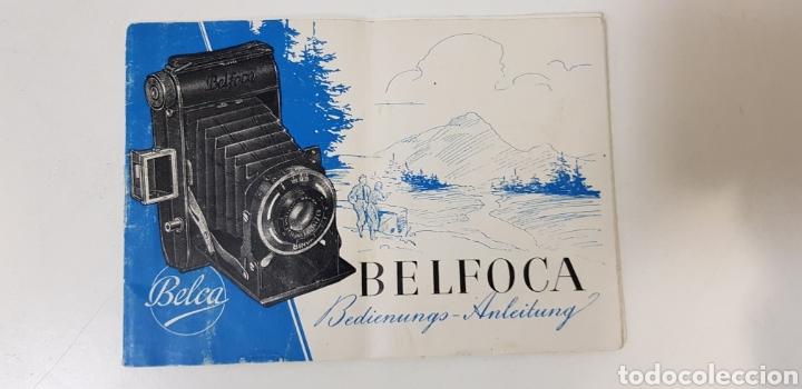 BELCA BELFOCA - MANUAL DE INSTRUCCIONES (Cámaras Fotográficas - Catálogos, Manuales y Publicidad)
