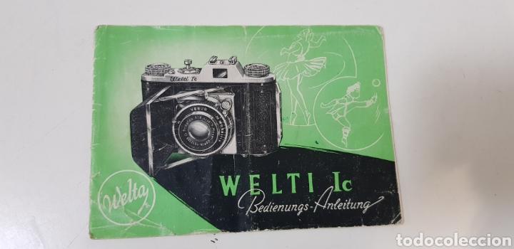 WELTA WELTI IC - MANUAL INSTRUCCIONES (Cámaras Fotográficas - Catálogos, Manuales y Publicidad)