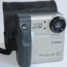Cámara de fotos: ANTIGUA CAMARA DIGITAL CANON POWERSHOT 350. Lote 205235187