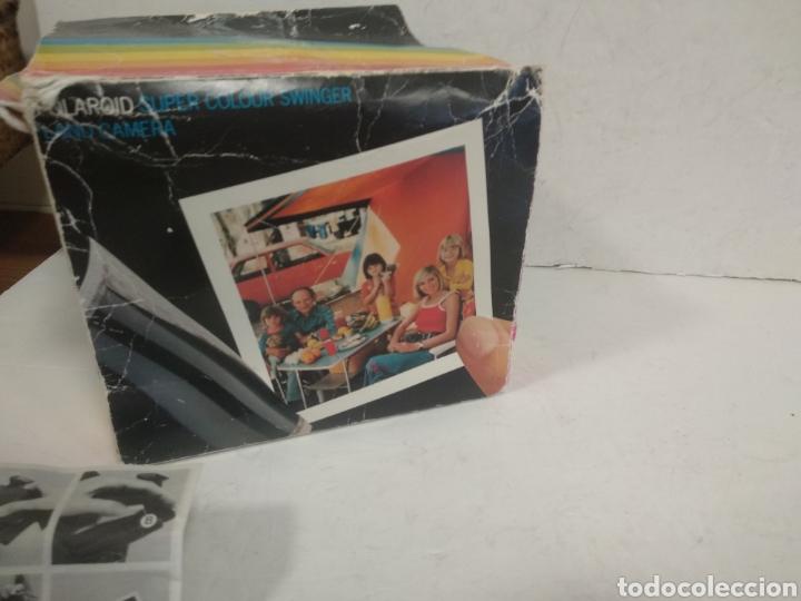 Cámara de fotos: POLAROID SUPER COLOUR SWINGER.1975.Caja, instrucciones. - Foto 2 - 205330738