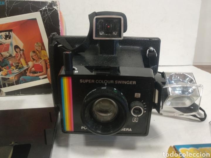 Cámara de fotos: POLAROID SUPER COLOUR SWINGER.1975.Caja, instrucciones. - Foto 11 - 205330738