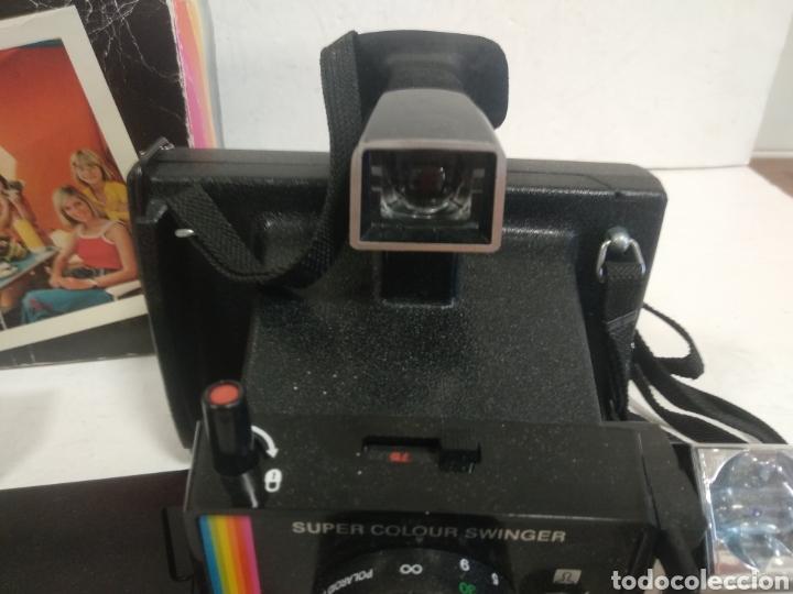 Cámara de fotos: POLAROID SUPER COLOUR SWINGER.1975.Caja, instrucciones. - Foto 12 - 205330738