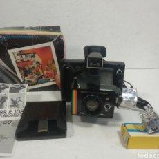 Cámara de fotos: POLAROID SUPER COLOUR SWINGER.1975.CAJA, INSTRUCCIONES.. Lote 205330738
