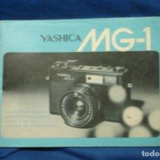 Cámara de fotos: MANUAL DE USO DE LA CÁMARA FOTOGRÁFICA YASHICA MG-1. Lote 205738298
