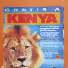 Cámara de fotos: PUBLICIDAD 1991 - CAMARAS - KODAK GOLD PELICULA OFICIAL OLIMPIADAS BARCELONA 1992 TAMAÑO 22,5 X 30CM. Lote 205772180