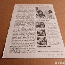 Cámara de fotos: ANUNCIO CAMARAS DE FOTOS HASSELBLAD - PUBLICIDAD DE 1967. Lote 205887271