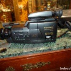 Cámara de fotos: CÁMARA PANASONIC NV-MS50 S-VHS-C MOVIE CAMERA MALETA ORIGINAL 44X35X16 CM. ACCESORIOS - SIN PROBAR. Lote 205901616
