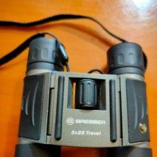 Cámara de fotos: PRISMÁTICOS BRESSER 8X22 TRAVÉS PLEGLABLES. Lote 206899676