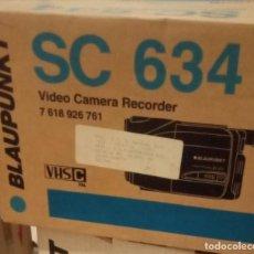 Cámara de fotos: VIDEOCAMARA BLAUPUNKT SC 634 VHSC PAL A ESTRENAR EN CAJA ORIGINAL SIN ABRIR. Lote 207196878