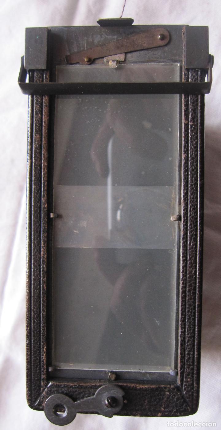 Cámara de fotos: VERASCOPE ANTIGUA CAMARA ESTEREOSCOPICA LE GLYPHOSCOPE JULES RICHARD PARIS- VERASCOPIO CON SU FUNDA - Foto 2 - 207272290
