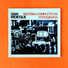 Cámara de fotos: ANTIGUO MANUAL, ASAHI PENTAX. SISTEMA COMPLETO DE FOTOGRAFÍA - NUEVO. Lote 207381911