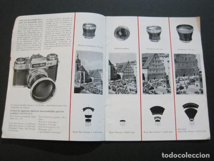 Cámara de fotos: ZEISS IKON-CONTAFLEX-CAMARA FOTOGRAFICA-CATALOGO DE PUBLICIDAD-VER FOTOS-(V-20.543) - Foto 3 - 207825393