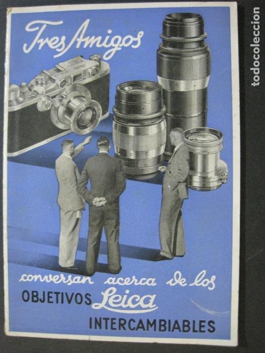 Cámara de fotos: OBJETIVOS LEICA-CAMARA FOTOGRAFICA-CATALOGO DE PUBLICIDAD-VER FOTOS-(V-20.544) - Foto 3 - 207825512