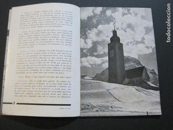 Cámara de fotos: OBJETIVOS LEICA-CAMARA FOTOGRAFICA-CATALOGO DE PUBLICIDAD-VER FOTOS-(V-20.544) - Foto 5 - 207825512