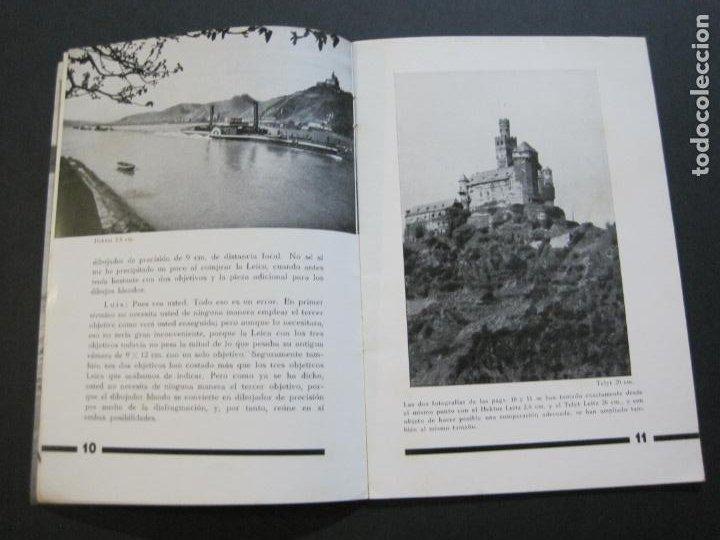 Cámara de fotos: OBJETIVOS LEICA-CAMARA FOTOGRAFICA-CATALOGO DE PUBLICIDAD-VER FOTOS-(V-20.544) - Foto 8 - 207825512