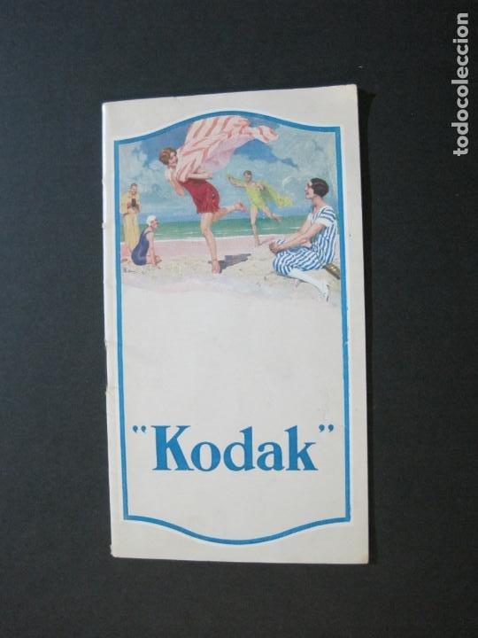 CAMARAS FOTOGRAFICAS KODAK-CATALOGO PUBLICIDAD ANTIGUA-VER FOTOS-(V-20.546) (Cámaras Fotográficas - Catálogos, Manuales y Publicidad)