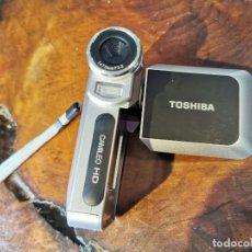 Cámara de fotos: VIDEO CAMARA HD-DV CAMCORDER 8X DIGITAL ZOOM TOSHIBA HDMI. Lote 207917598