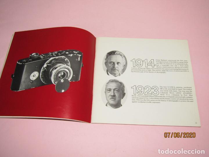 Cámara de fotos: Antiguo *El Desarroyo del Sistema LEICA desde 1914-1981* - Propaganda de LEICA - Año 1981 - Foto 2 - 207967718