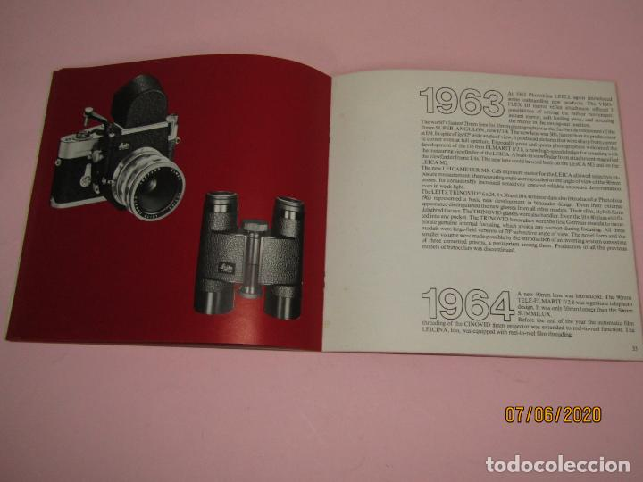 Cámara de fotos: Antiguo *El Desarroyo del Sistema LEICA desde 1914-1981* - Propaganda de LEICA - Año 1981 - Foto 12 - 207967718