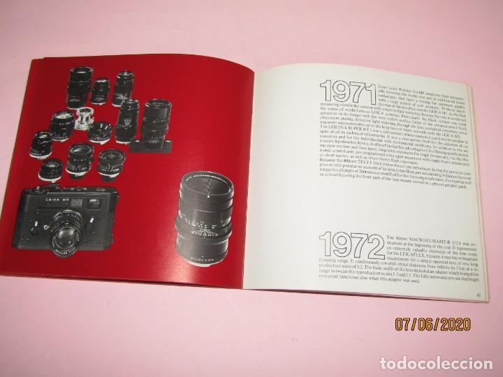 Cámara de fotos: Antiguo *El Desarroyo del Sistema LEICA desde 1914-1981* - Propaganda de LEICA - Año 1981 - Foto 15 - 207967718