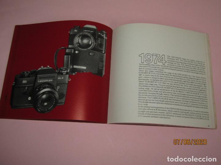 Cámara de fotos: Antiguo *El Desarroyo del Sistema LEICA desde 1914-1981* - Propaganda de LEICA - Año 1981 - Foto 16 - 207967718