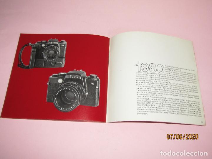Cámara de fotos: Antiguo *El Desarroyo del Sistema LEICA desde 1914-1981* - Propaganda de LEICA - Año 1981 - Foto 18 - 207967718