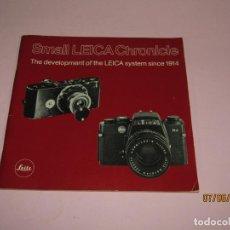 Cámara de fotos: ANTIGUO *EL DESARROYO DEL SISTEMA LEICA DESDE 1914-1981* - PROPAGANDA DE LEICA - AÑO 1981. Lote 207967718