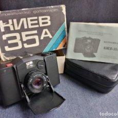 Cámara de fotos: CÁMARA DE FOTOS KIEV 35A FABRICADA EN LA URSS RUSA. Lote 208281265