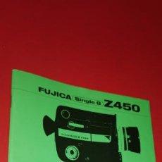 Cámara de fotos: INSTRUCCIONES FUJICA SINGLE-8 Z450. Lote 209007380