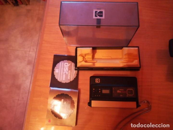CÁMARA KODAK DISC 8000 (Cámaras Fotográficas - Otras)