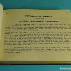 Cámara de fotos: FOTOGRAFÍA BÁSICA. TOMO II. LECCIÓN 13ª A 21 ª. CURSO DE FOTOGRAFÍA POR CORRESPONDENCIA ETAF 1967. Lote 209262228